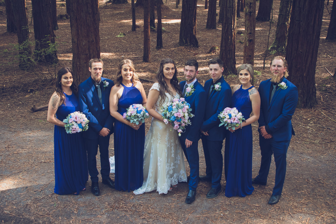 Redwood Forest Rotorua Wedding
